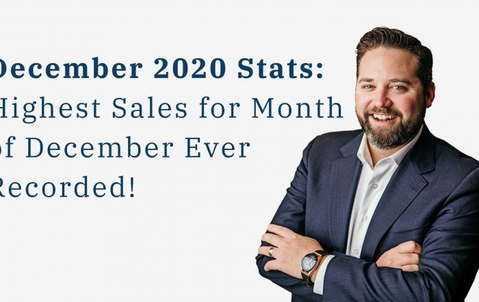 Bob's update on december real estate stats